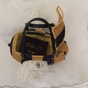 Kate Spade wicker bee purse.